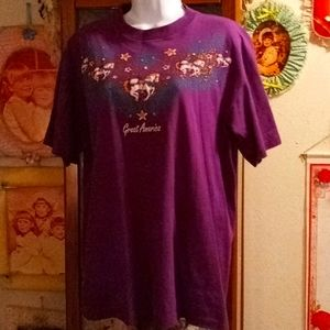 Vintage 80's Collector's Edition Marriott's Great America Tshirt